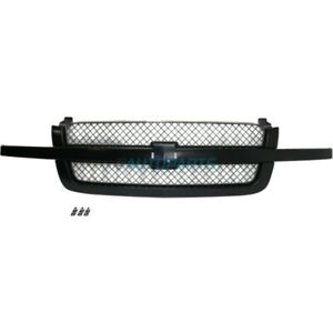 New Grille Paintable Fits 2003 2006 Chevrolet Avalanche 1500 Gm1200557