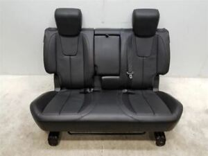 2010 Chevy Equinox Rear Seat Bench Leather Oem 208613