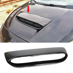 Fit For Mazda 3 2nd 4dr 5dr Mps Mazdaspeed Front Hood Scoop Vent Carbon 2012