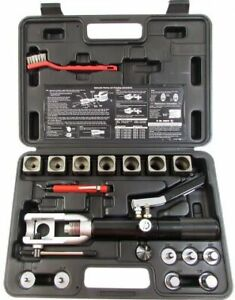 Mastercool 71700 Black Hydraulic Flaring And Swaging Tool