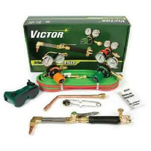 Victor 0384 2692 Medalist 350 Af 510lp Edge Propane Cutting Torch Outfit