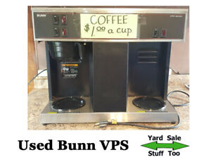 Bunn Vps Coffee Maker Used Tested Working Great Coffee Pot