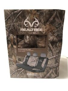 New Realtree Edge Camo Seat Cover Universal Full Size Bench Seat Flex Fit