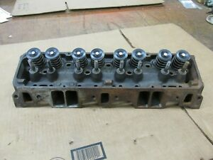 1969 Camaro Z28 Dz 302 Sbc 2 02 1 60 Hump Small Block Chevy Head 3927186 E 7 9