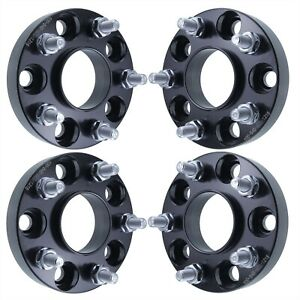 4pcs 5x114 3 Wheel Spacers 67 1mm Hub And Wheel Centric 1 Inch 12x1 5 Studs