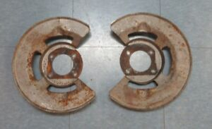 1967 Mustang Shelby Original Used Front Disc Brake Backing Plates Shields