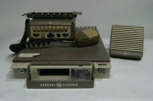 General Electric Mastr Executive Ii Vhf W Accessories Untested