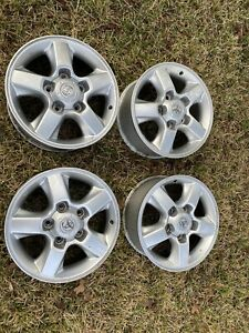 4 03 05 Land Cruiser Five 5 Spoke Wheel 18x8 Alloy Oem Rim Set W Center Caps