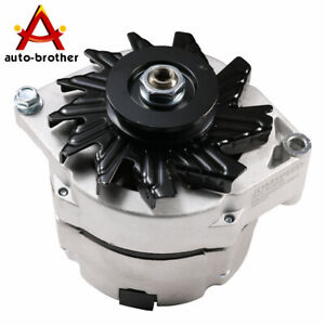 12v Alternator High Output 105 Amp For Chevy One 1 Wire Delco 10si Self Exciting