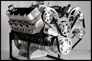 Bbc Chevy 572 Turn Key Engine Dart Block 740 Hp Serpentine