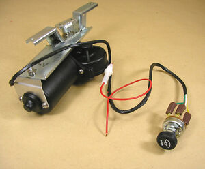 1953 1957 Pontiac 12 Volt Electric Wiper Replacement Motor C4652032rp