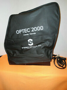 Stereo Optical Vision Tester Model Optec 2000 With Dust Cover