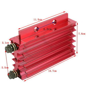 Univeersal Red Motorcycle Oil Cooler Radiator Cooling Fit For Atv 50cc 125cc