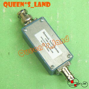 1 Newmatic Sound 1 800 228 1428 1 4 1 8ghz Bnc Bandpass In line Rf Filter