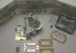 Weber 38 38 Performance Conversion Kit Fits Toyota Coroilla Starlet 3kc