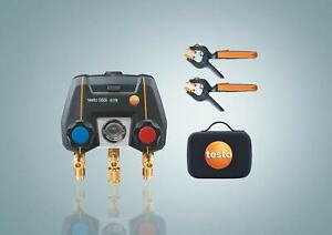 Testo 550i Smart Kit With Two 115i Temperature Probes part Number 0564 3550 01