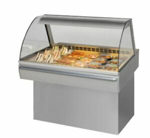 New Aged Frijado Cd2 Curved Refrigerated Deli Case