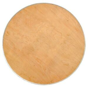30 Round Cocktail bistro Table Top Heavy Duty Birch Plywood With Steel Edge