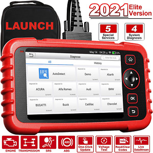 Launch Scan Tool Crp129x Obd2 Scanner Automotive Code Reader Android Based New