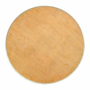 36 Round Cocktail bistro Table Top Heavy Duty Birch Plywood With Steel Edge