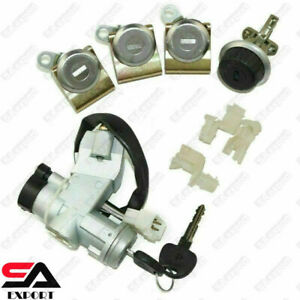 Suzuki Sj410 Sj413 Samurai Ignition Switch Steering Door Glove Box Lock Set