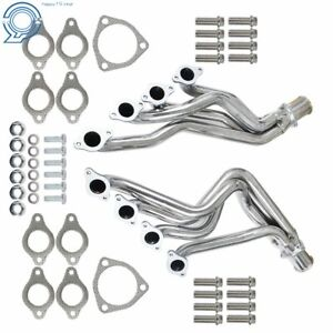 For 1969 1971 Chevy Chevelle Camaro 396 427 454 Heavy Duty Headers Silver Coated