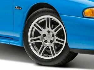 American Muscle Cobra Style Wheel In Anthracite 17x9 Fits Ford Mustang 1994 1998