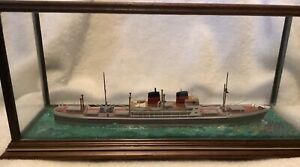 Ron Hughes 1 600 Ss Andria Handmade Waterline Model Ship W Case