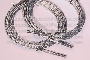 N372 Bh 7529 86 Rotary Lift Equalizer Cables For Spoa10 Set Of 2 Free Shipping