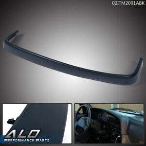For 1989 1995 Toyota Pickup Truck Molded Top Dash Pad Trim Bezel Textured Blue