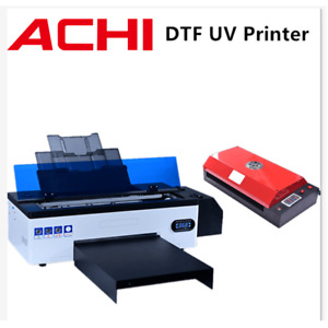 Dtf Uv Flatbed Printer Direct To Film T shirt Printer Epson R1390 W oven Heater