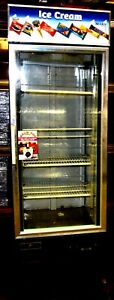 Spartan Freezer Sgf 26 Single Door Glass Freezer Merchandiser 5 Units Available