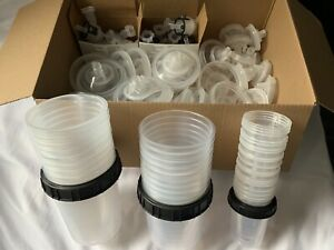 3m Hvlp Spray Cups Liners Lids And Atomizing Heads Kit