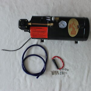 150psi Air Compressor With 3 Liter Tank For Truck Pickup On Board Air Horn 12v