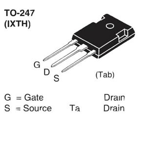 Ixth34n65x2 N channel Mosfet Transistor To 247 650v 34a Ship From Texas