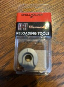 Hornady shell holder #1. Fits 6.5 Creedmoor 308 30 06 and 106 more calipers $18.50