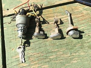 1958 Ford Ignition Switch Door Trunk Locks With Keys