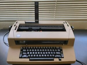 Ibm Correcting Selectric Iii Typewriter Working Condition With New Ribbon In Box