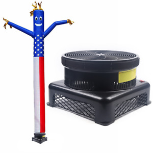 110v 17 7 Inch 750w Inflatable Fly Guy Air Blower Fan For Dancer Wind Tube Man