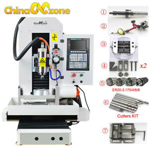 Dsp Steel Cnc 3040 5axis Metal Router Servo Motor Engraver Cutting Machine 2200w