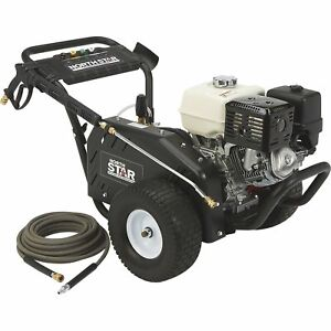 Northstar Gas Cold Water Pressure Washer 4000 Psi 3 5 Gpm Honda Engine