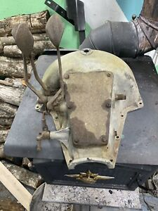 1915 Model T Ford Transmission Cover Hogs Head Aluminum No Starter Speedster