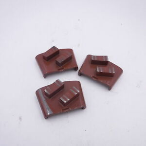 3 Pack Htc Ez S4 Brown ds 80 Grit Grinding polishing For Soft Concrete Floors