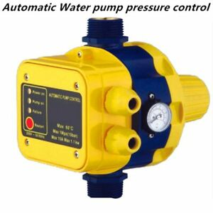 Water Pump Pressure Controller Automatic Switch Electric Gauge Home Accessories