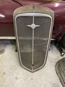 1935 Chevy Master Series Grille Oem Grill 1934 1936