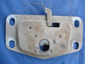 Studebaker Champion 1948 1950 Hood Latch Lock Plate Assembly Our B