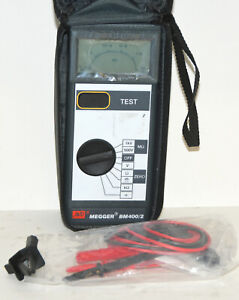 Megger Bm400 2 Insulation Continuity Multimeter Tester