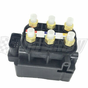 Air Suspension Solenoid Valve Control For Vw Touareg Audi Q7 Porsche Cayenne