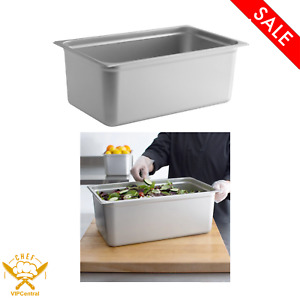 8 Inches Deep Full Size 22 Gauge Anti jam Stainless Steel Steam Table Hotel Pan