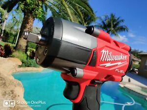 Milwaukee 2960 20 M18 Fuel 3 8 Mid torque Compact Impact Wrench 650 Ft lbs